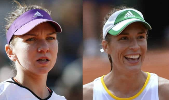 Andrea Petkovic and Simona Halep