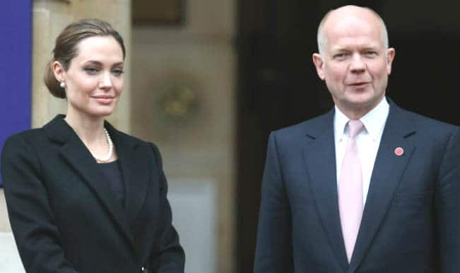 Angelina Jolie, William Hague host London conference highlighting use of rape in war
