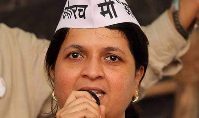 Anjali Damania quits Aam Aadmi Party