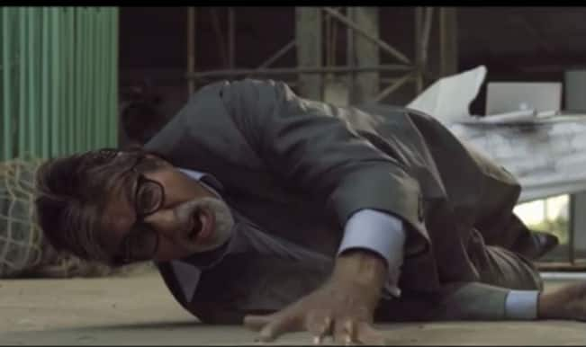 Watch Anurag Kashyap's Yudh trailer: Amitabh Bachchan back on small screen in all-new avatar!