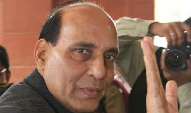 Rajnath Singh reviews police division working