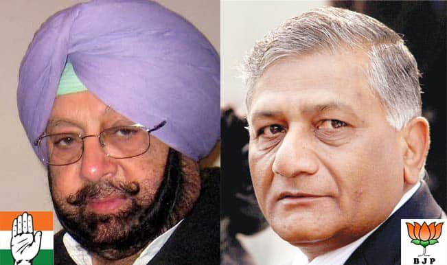 Congress demands dismissal of V K Singh from ministry