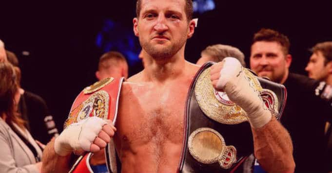 Carl Froch still ambitious about seeing name 'up in Vegas with boxing greats'