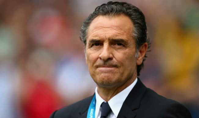 Italy in turmoil as Cesare Prandelli resigns as manager