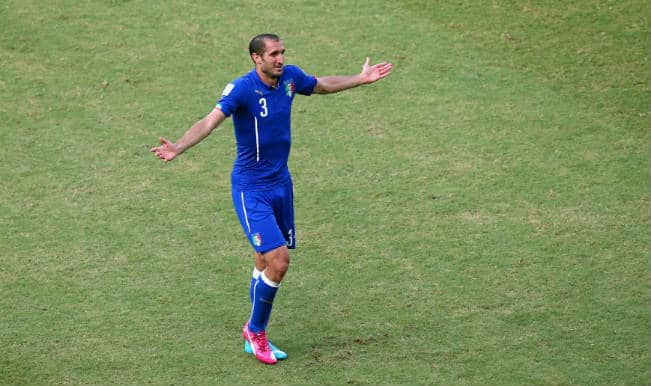 Luis Suarez ban too harsh says bite victim Giorgio Chiellini