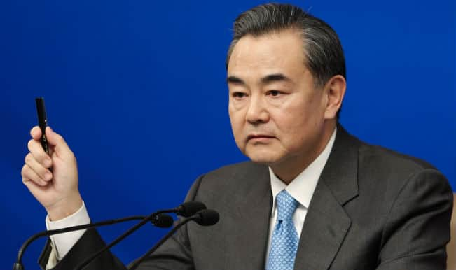 Chinese Foreign Minister Wang Yi1