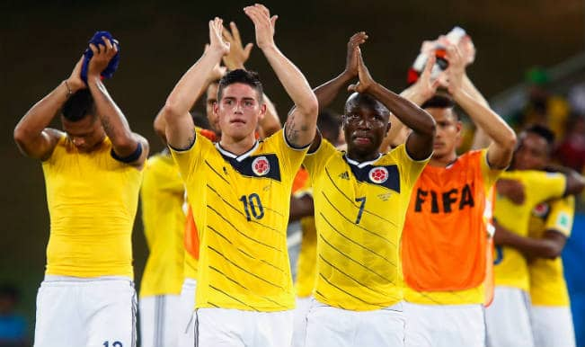 Colombia vs Uruguay: Watch Sony Six TV for Free Live Streaming & Telecast of FIFA World Cup 2014 50th Match