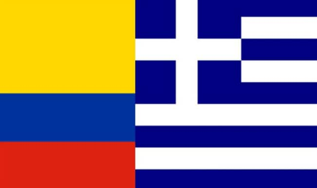 Colombia vs Greece
