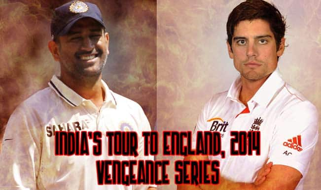 India vs England 2014 schedule: Match time table and squad details