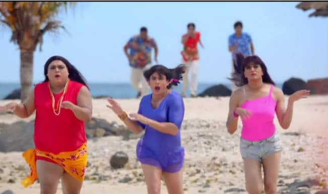 Saif Ali Khan and Riteish Deshmukh turn into Hotties in 'Khol De Dil Ki Khidki' song from 'Humshakals'