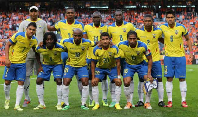 Ecuador Football Team 2014