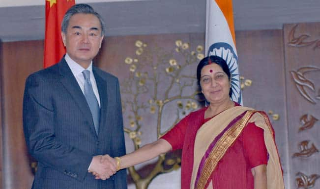 Chinese foreign minister meets Sushma Swaraj, 'all issues' on table