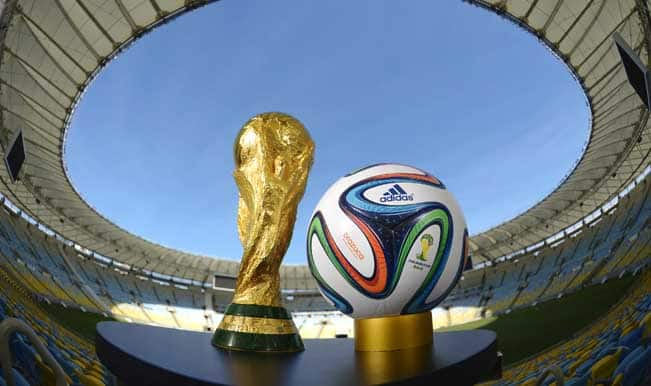 FIFA World Cup 2014 Points Table: Match results and team standings