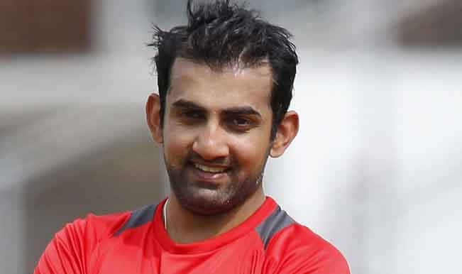 Gautam Gambhir defends Narine's decision to play Indian Premier League final