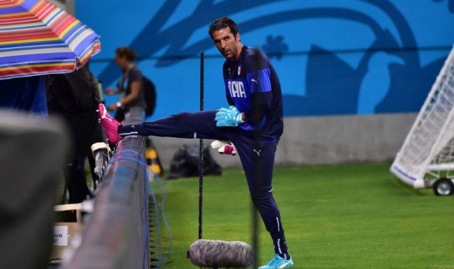 Italy lose goalkeeper Gianluigi Buffon for England clash