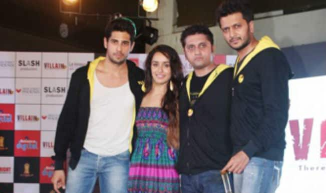 Shraddha Kapoor and Siddharth Malhotra on a promotion spree of their movie Ek Villain