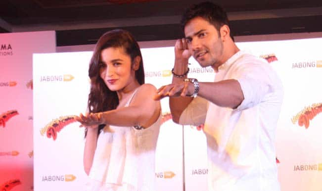 Humpty Sharma Ki Dulhania promotions; Varun and Alia spotted in Delhi!