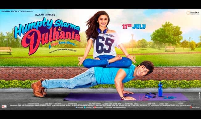 Have you seen the latest poster of Humpty Sharma Ki Dulhania?