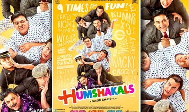 Movie Review: 'Humshakals'- Hum Shock-Alls reeling under the farce