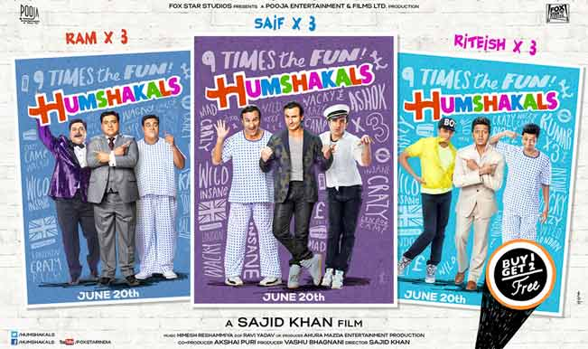 Humshakals:  The movie didn't make you laugh? This story will
