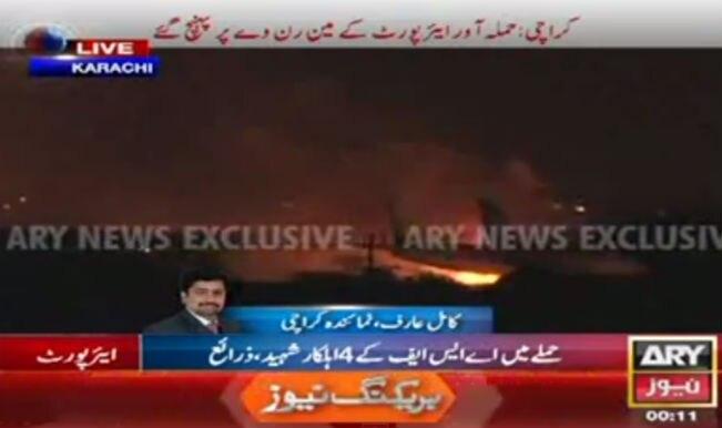 Karachi Airport attack: Pak commondos combat terrorists, plane hijack plans foiled