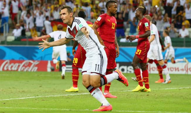 Miroslav Klose helps Germany snatch 2-2 draw against determined Ghana