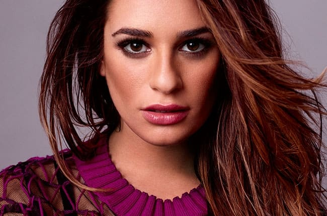 Lea Michele's tasted wine as toddler
