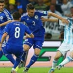 Lionel Messi leads Argentina to a 2-1 win against Bosnia and Herzegovina