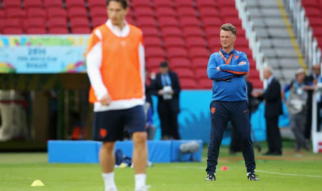Louis Van Gaal: Netherlands have won nothing yet