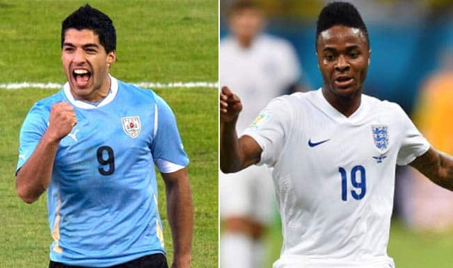 FIFA World Cup 2014, Uruguay vs England: Key players to watch