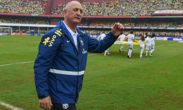 Good cop-bad cop Luiz Felipe Scolari defends Brazil