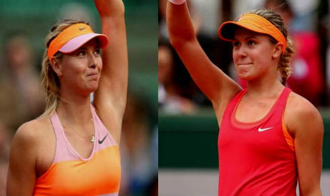 Maria Sharapova Vs Eugenie Bouchard