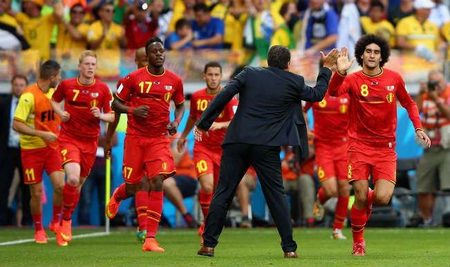 Manchester United misfit Marouane Fellaini inspires Belgium comeback
