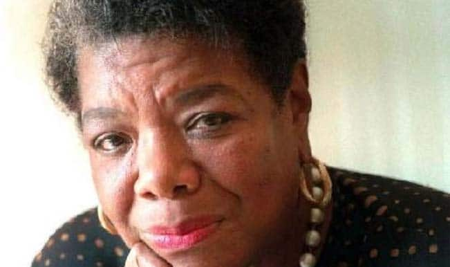 Maya Angelou recites Phenomenal Woman