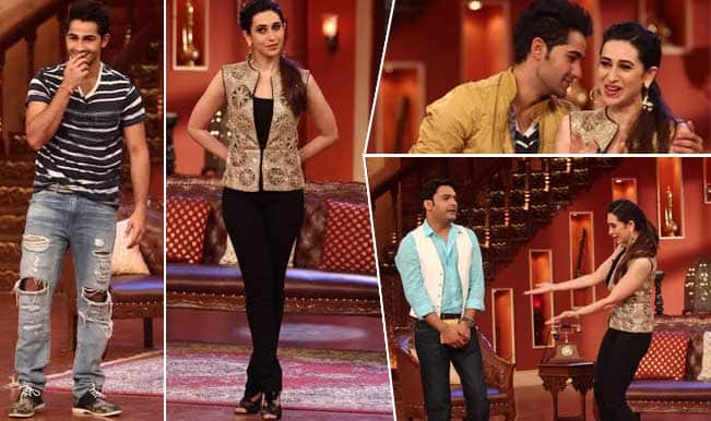 Armaan Jain along with Karisma Kapoor promote 'Lekar Hum Deewana Dil' on 'Comedy Nights with Kapil'
