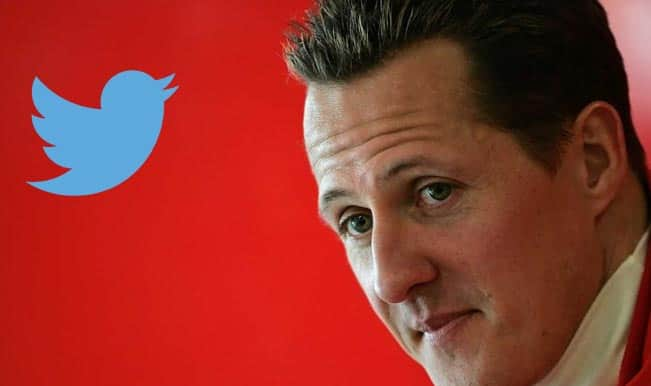 Michael Schumacher & Twitterati get a new life; as the former comes 'out of coma'