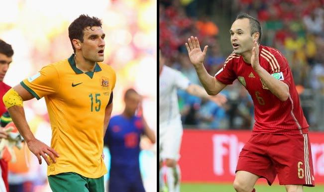 FIFA World Cup 2014, Australia vs Spain: Key players to watch