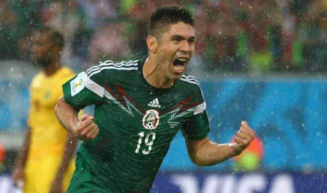 Mexico down Cameroon 1-0 as officials flop again