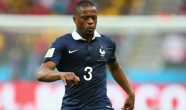 Patrice Evra fights his way out of French sin bin
