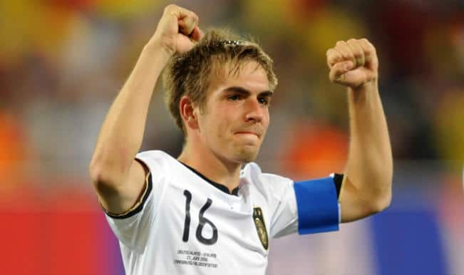 Germany's Captain Philipp Lahm, a good reader of the game