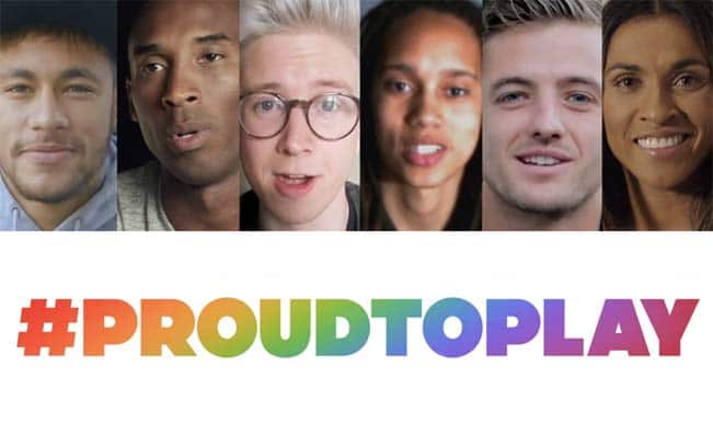 #ProudToPlay: Celebrating LGBT Pride month and equality for all athletes