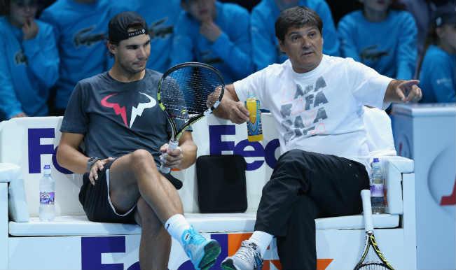 Rafael Nadal and Toni Nadal