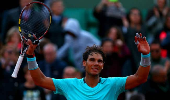 Rafael Nadal overpowers David Ferrer to reach his ninth French Open semi-finals