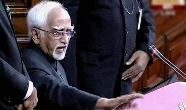 Pursuit of world peace is fundamental tenet of India's foreign policy: Hamid Ansari