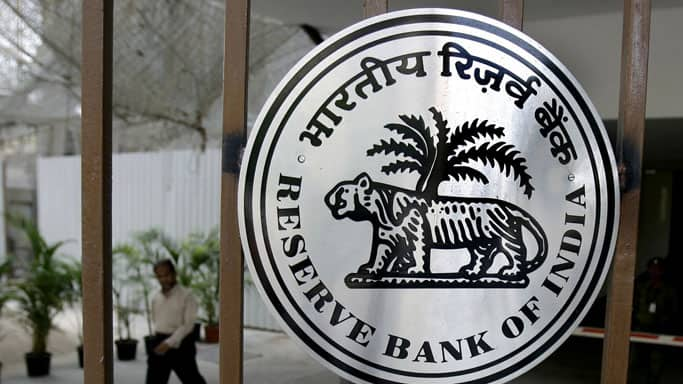 Reserve Bank of India net purchaser of .87 bn from spot forex market in April