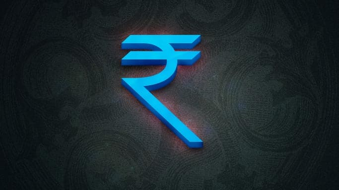 Rupee down five paise against dollar