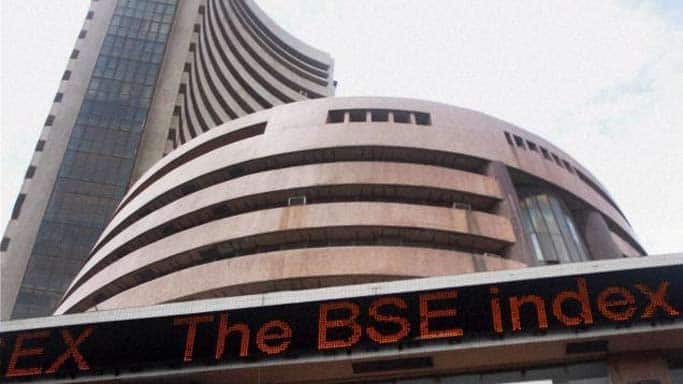 Sensex ends flat after hitting new life-time high