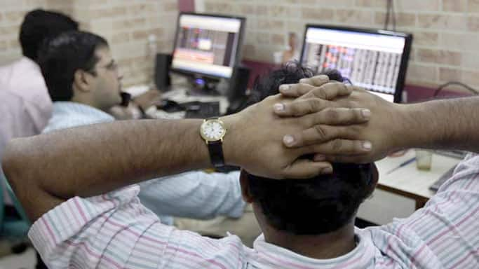 Sensex slips 141 points from all-time high on profit-booking