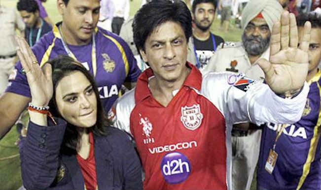 KKR's Shahrukh Khan dons Kings XI Punjab jersey, says 'KXIP – best team in IPL'