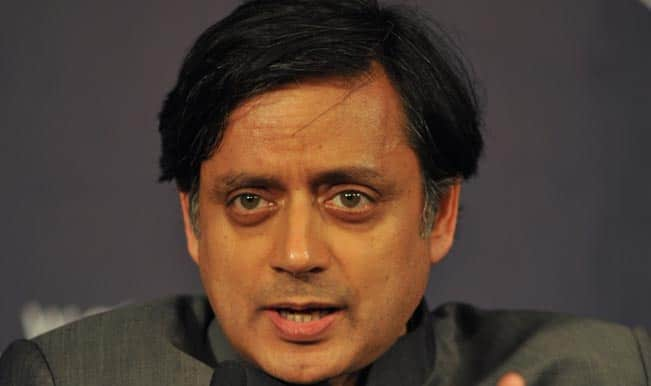 Shashi Tharoor calls Harshvardhan's sex education ideas outdated